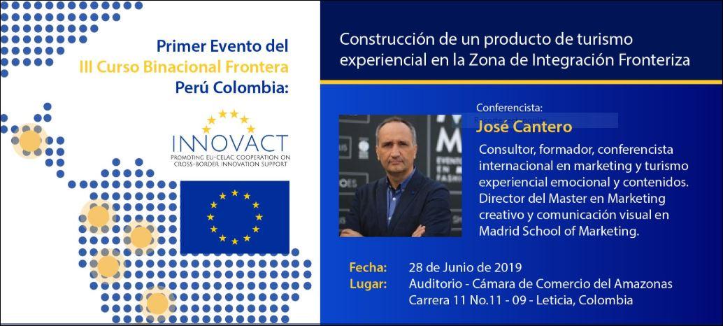 Taller de innovación en turismo experiencial transfronterizo en Colombia y Perú